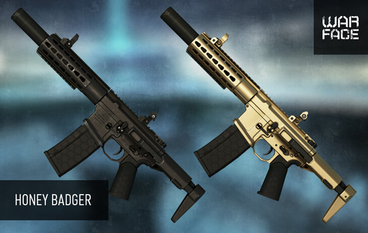 Пистолет-пулемет Honey Badger