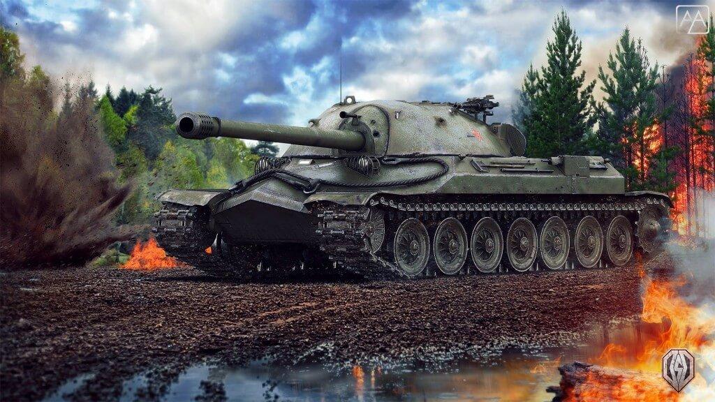 ис 7 world of tanks